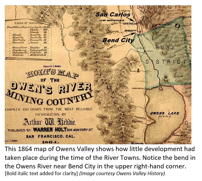 Long Gone River Towns Of Owens Valley Laws Railroad Museum